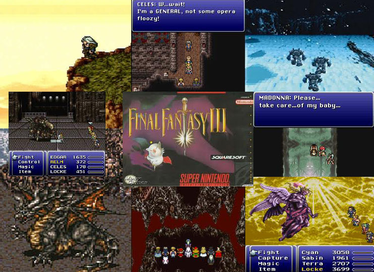 Final Fantasy VI (III) Collage