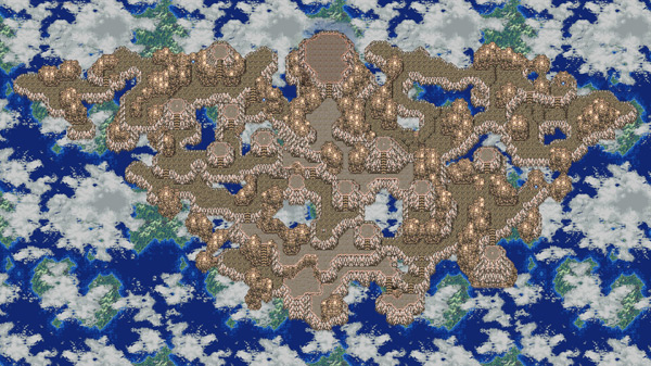 Floating Continent Final Fantasy VI (III)