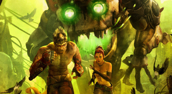 Enslaved: Odyssey to the West - Monkey and Trip