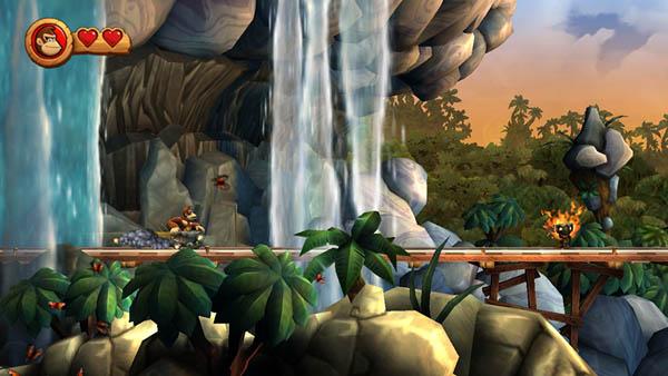 Donkey Kong Country Returns Screen Shot