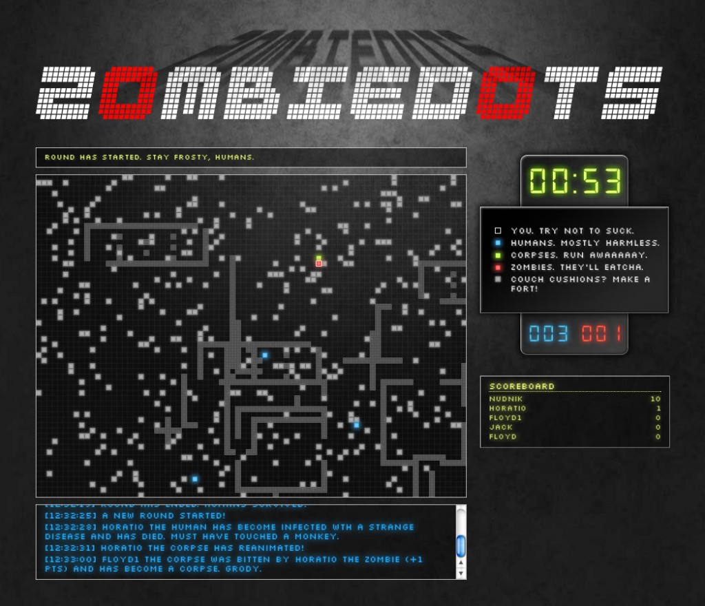 Zombiedots - Form & Method