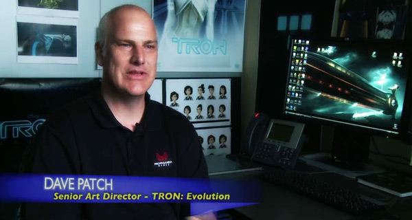 David Patch - Art Director on TRON: Evolution