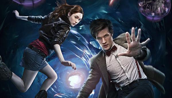 Doctor Who - Karen Gillan and Matt Smith