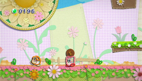 Kirby's Epic Yarn Screen Shot