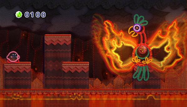 Kirby's Epic Yarn Screen Shot