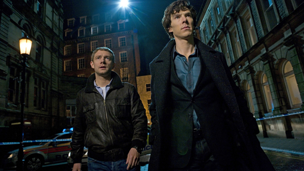 Sherlock - Martin Freeman and Benedict Cumberbatch
