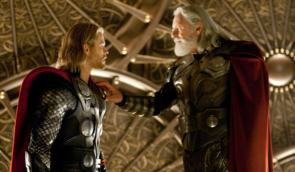 Thor - Chris Hemsworth and Anthony Hopkins