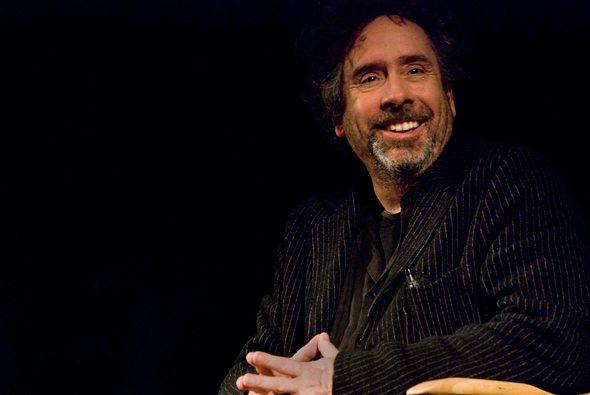 Tim Burton at the TIFF Bell Lightbox (Photo by Chandra Menard/BlogTO)