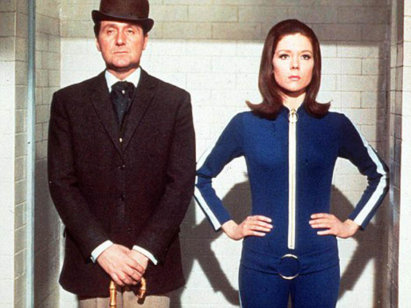 The Avengers - Patrick Macnee and Diana Rigg
