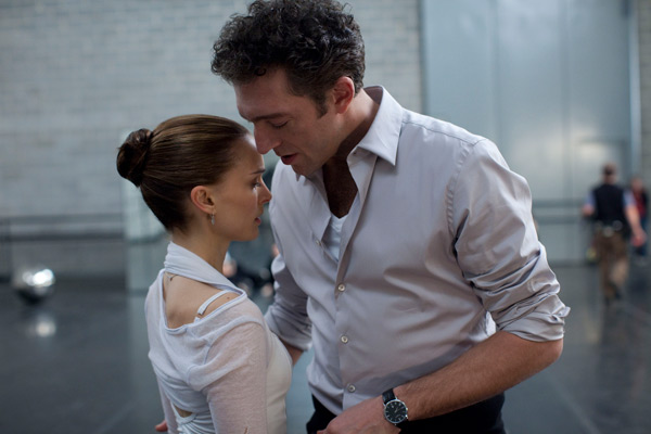 Black Swan - Natalie Portman and Vincent Cassel