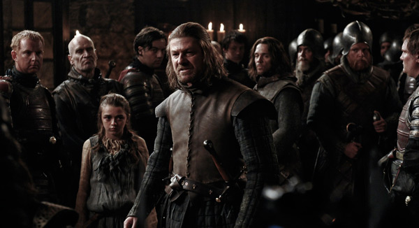 Game of Thrones - Sean Bean as Eddard Stark