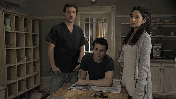 Being Human - Sam Huntington, Sam Witwer and Meaghan Rath