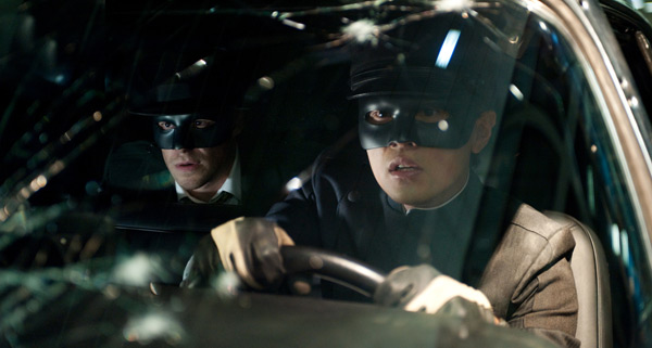The Green Hornet - Seth Rogen and Jay Chou