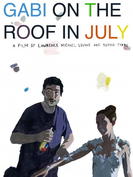 Gabi on the Roof in July - Lawrence Michael Levine