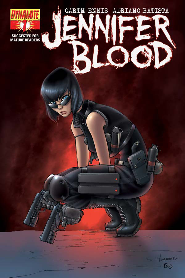 Jennifer Blood #1 - Garth Ennis