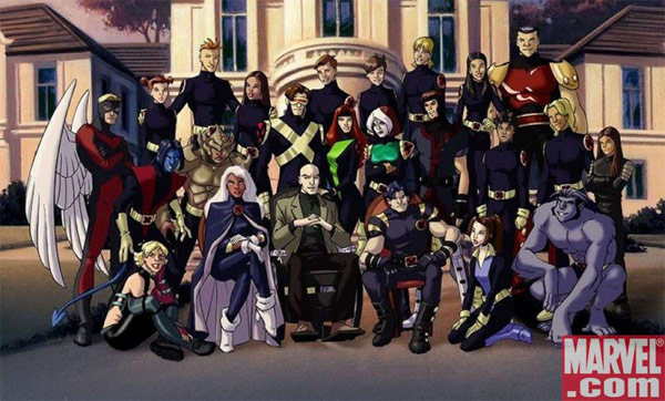 X-Men Evolution Cartoon