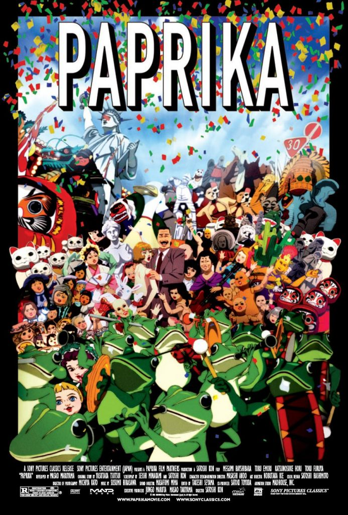 Paprika Poster - Satoshi Kon