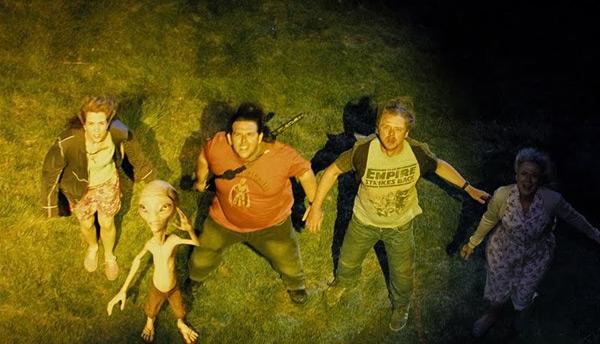Paul - Seth Rogen, Simon Pegg & Nick Frost