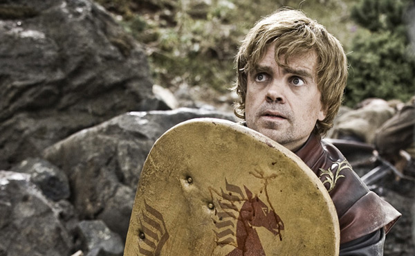 Game of Thrones - Tyrion with a shield