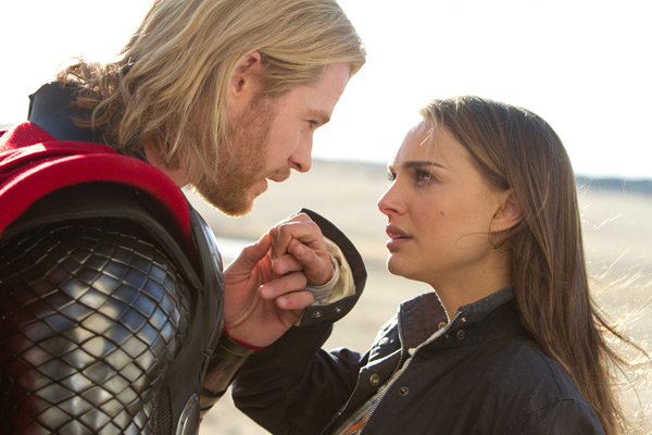 Thor - Chris Hemsworth & Natalie Portman