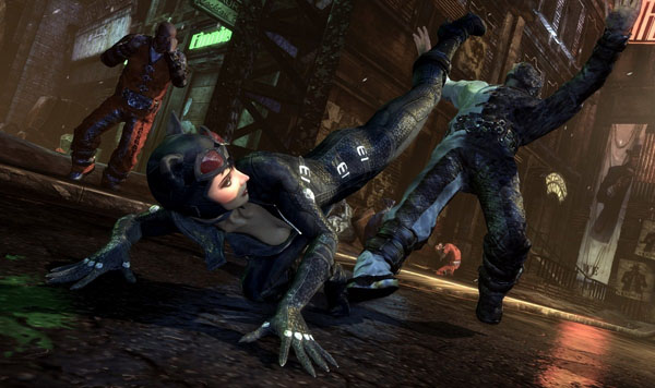 Arkham City Catwoman Screenshot