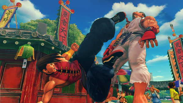 Super Street Fighter IV Arcade Edition - Yang