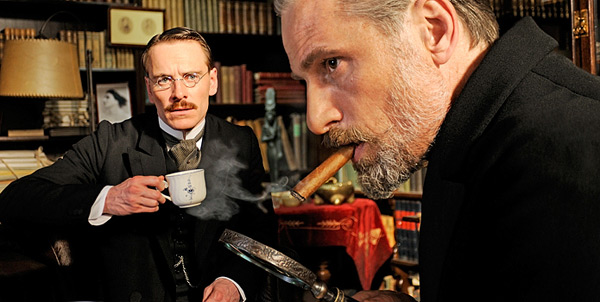 A Dangerous Method - Michael Fassbender and Viggo Mortensen