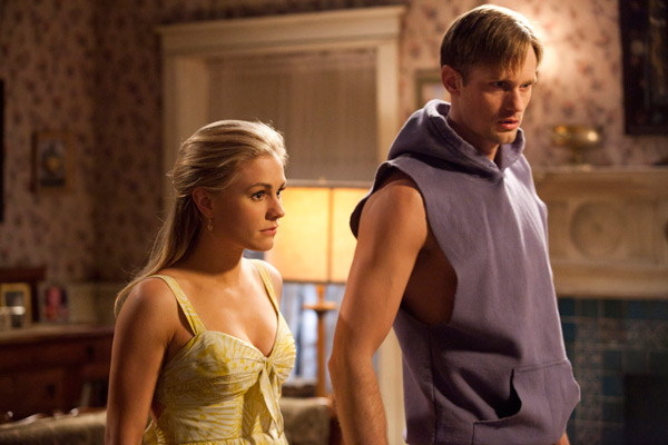 True Blood Episode 4.5 - Anna Paquin and Alexander Skarsgard