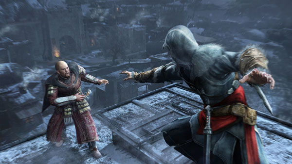 Assassin's Creed: Revelations - that poor Templar