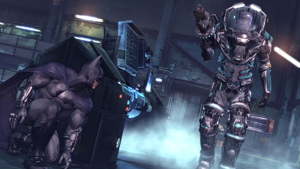 Batman Arkham City - Mr. Freeze combat