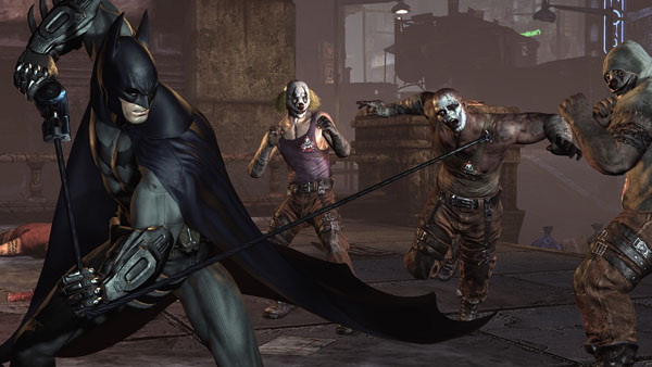 Batman Arkham City - Get over here!