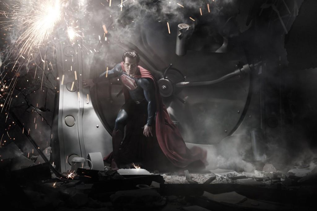 Henry Cavill as Superman - Man of Steel