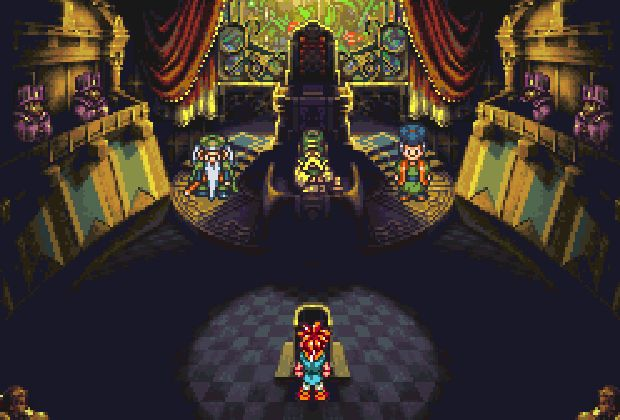 Chrono Trigger - Court Room