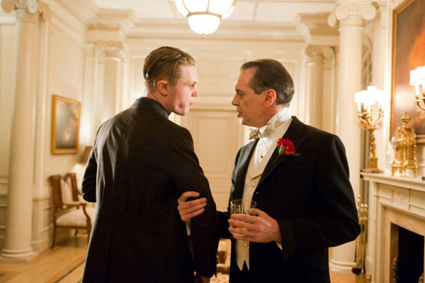 Michael Pitt (left) and Steve Buscemi in Boardwalk Empire