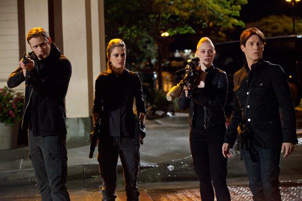 True Blood Episode 4.11 - AlexanderSkarsgard, Kristin Bauer, Deborah Ann Woll, Stephen Moyer
