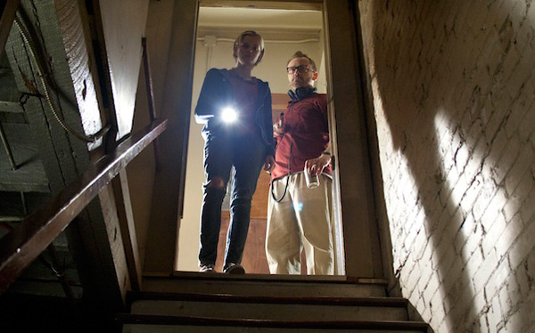 The Innkeepers - Sara Paxton and Pat Healy