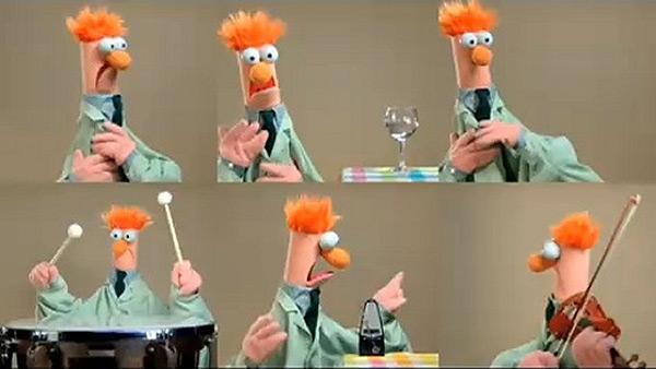 Muppets - Beaker - Ode to Joy