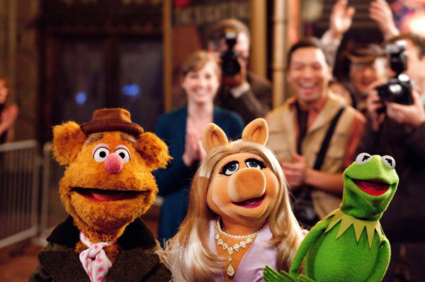 The Muppets - Fozzie Bear, Miss Piggy, Kermit the Frog