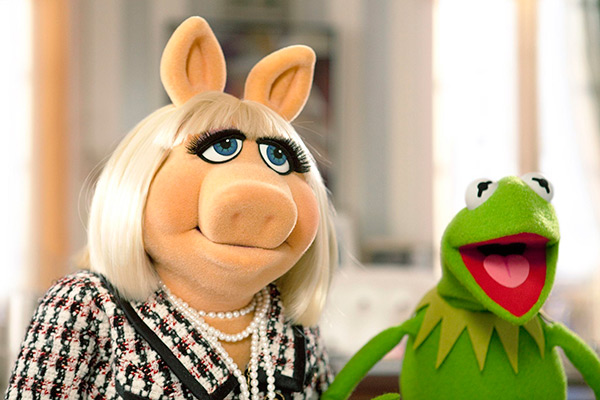 The Muppets - Miss Piggy and Kermit