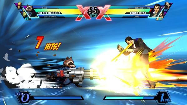 UMvC3 - Rocket Raccoon vs Frank West