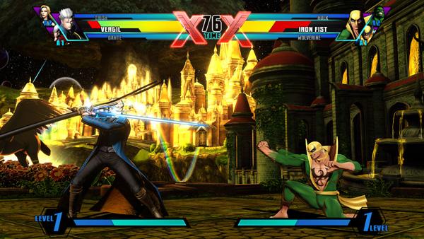 UMvC3 - Vergil vs Iron Fist