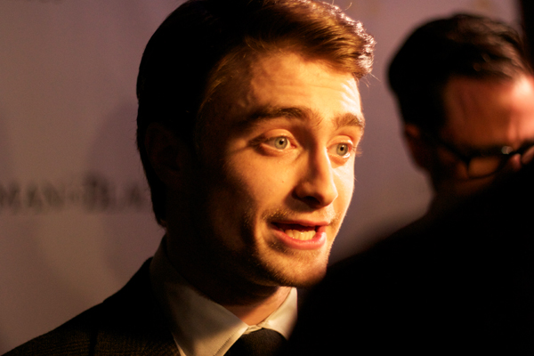 Daniel Radcliffe at the Toronto premiere of The Woman in Black