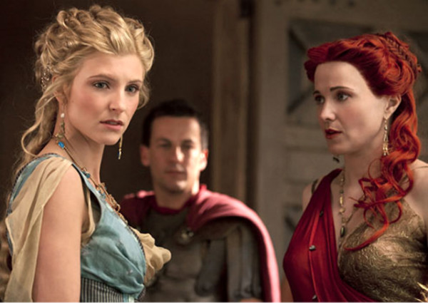 Viva Bianca and  Lucy Lawless - Spartacus Vengeance