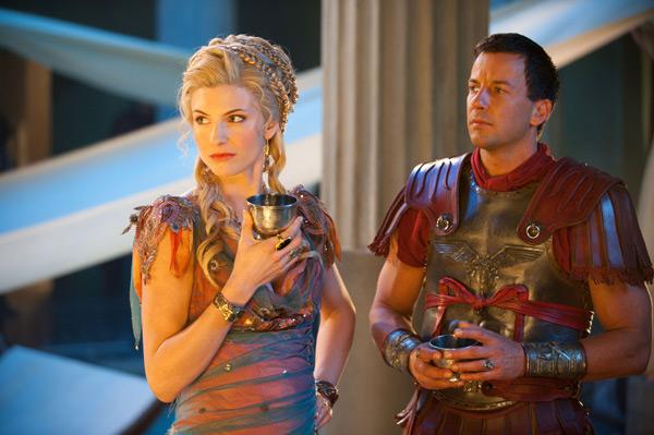 Viva Bianca and Craig Parker - Spartacus: Vengeance