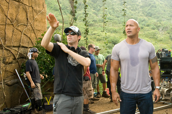Journey 2: Mysterious Island - Brad Peyton and Dwayne Johnson