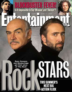 The Rock - Sean Connery and Nicolas Cage