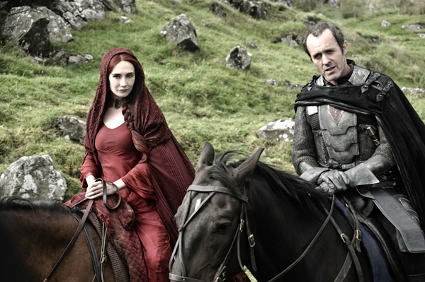 Game of Thrones - Season 2 - Melisandre and Stannis