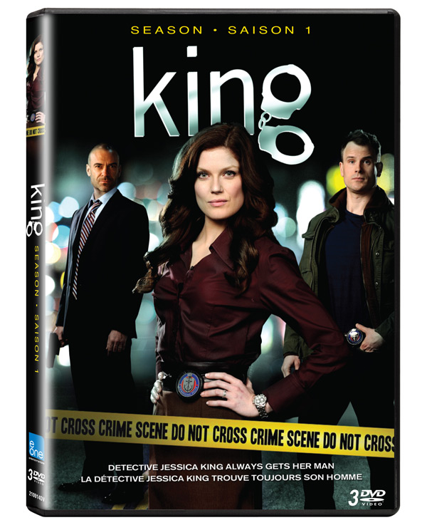 King - Season 1 on DVD