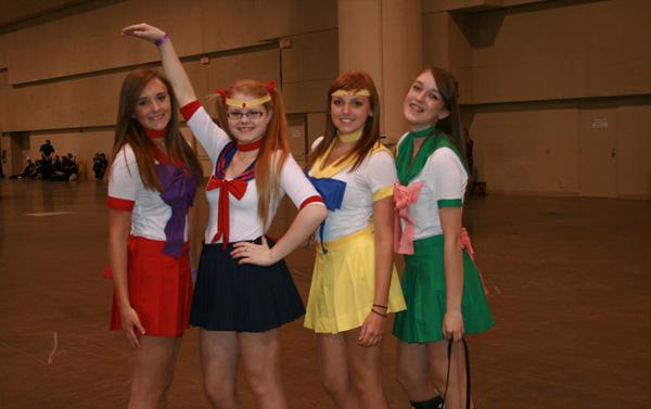 Sailor Moon & Sailor Scouts