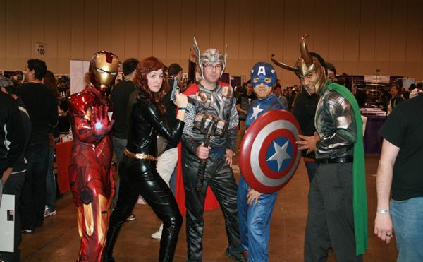 The Avengers, 2012 film cast-friendly